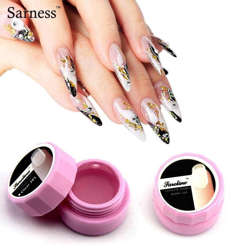 Gel constructor UV transparente blanco rosa claro limpio precio al por mayor Missgel Gel mezclado UV Nail Art manicura consejos pegamento