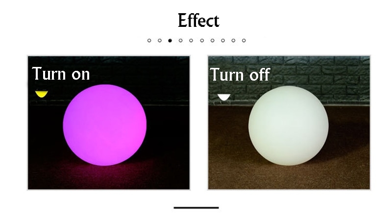 Solar LED Ball Night Light IP65 Waterproof Outdoor 16 Color Changing Floating swimming pool bar grass lights decoration lamps enlarge
