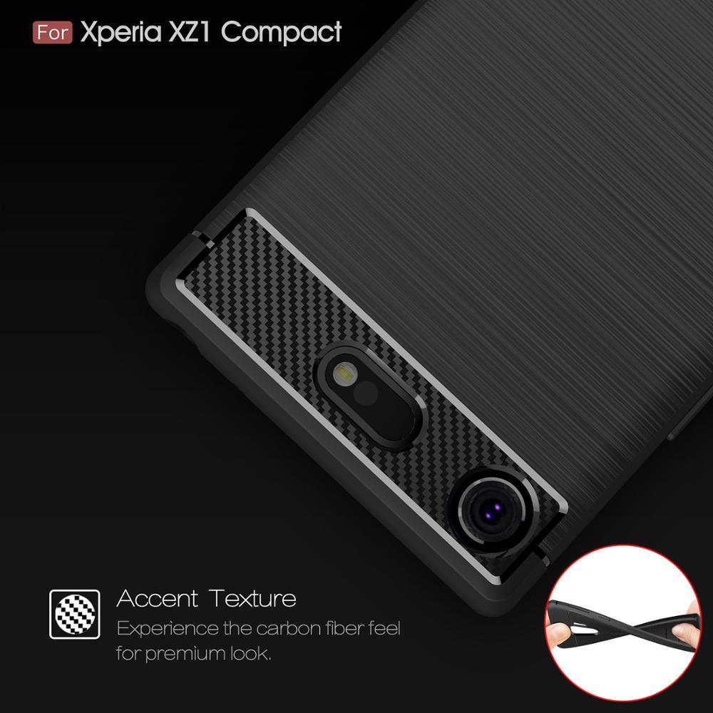 4.6для Sony Xperia Xz1 Compact Case для Sony Xperia Xz1 Xz 1 Compact Premium Xzp Dual G8441 G8342 G8341 G8142 Coque Cover Case