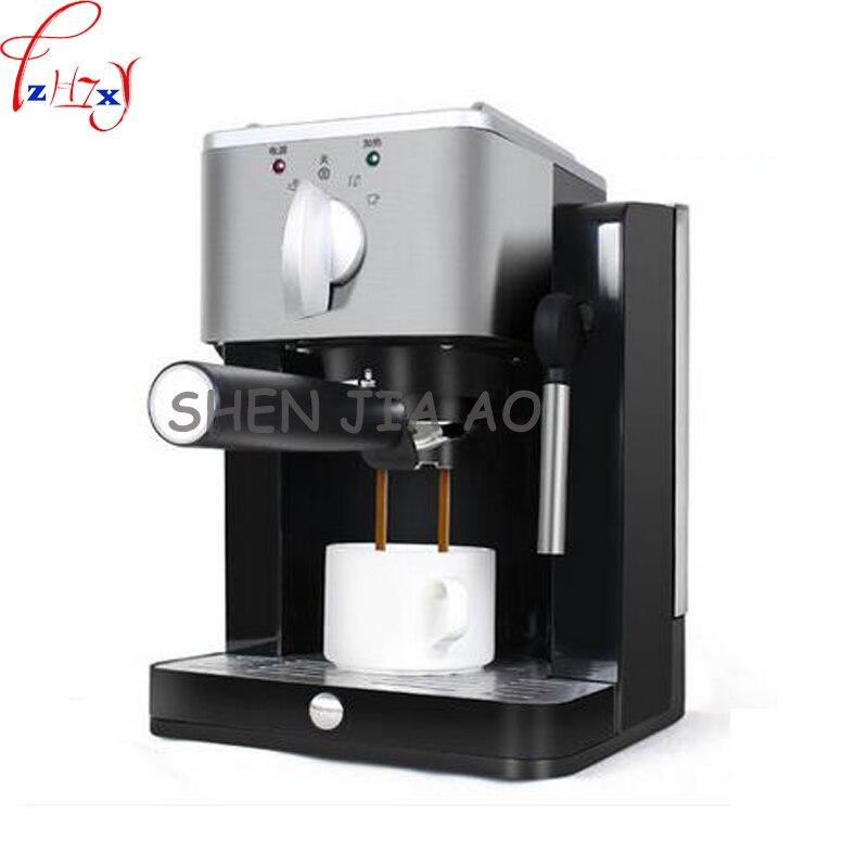 1 unidad de bomba de máquina de café a vapor mini semiautomática para el hogar de 220V y 850 W, máquina de café italiana de alta presión