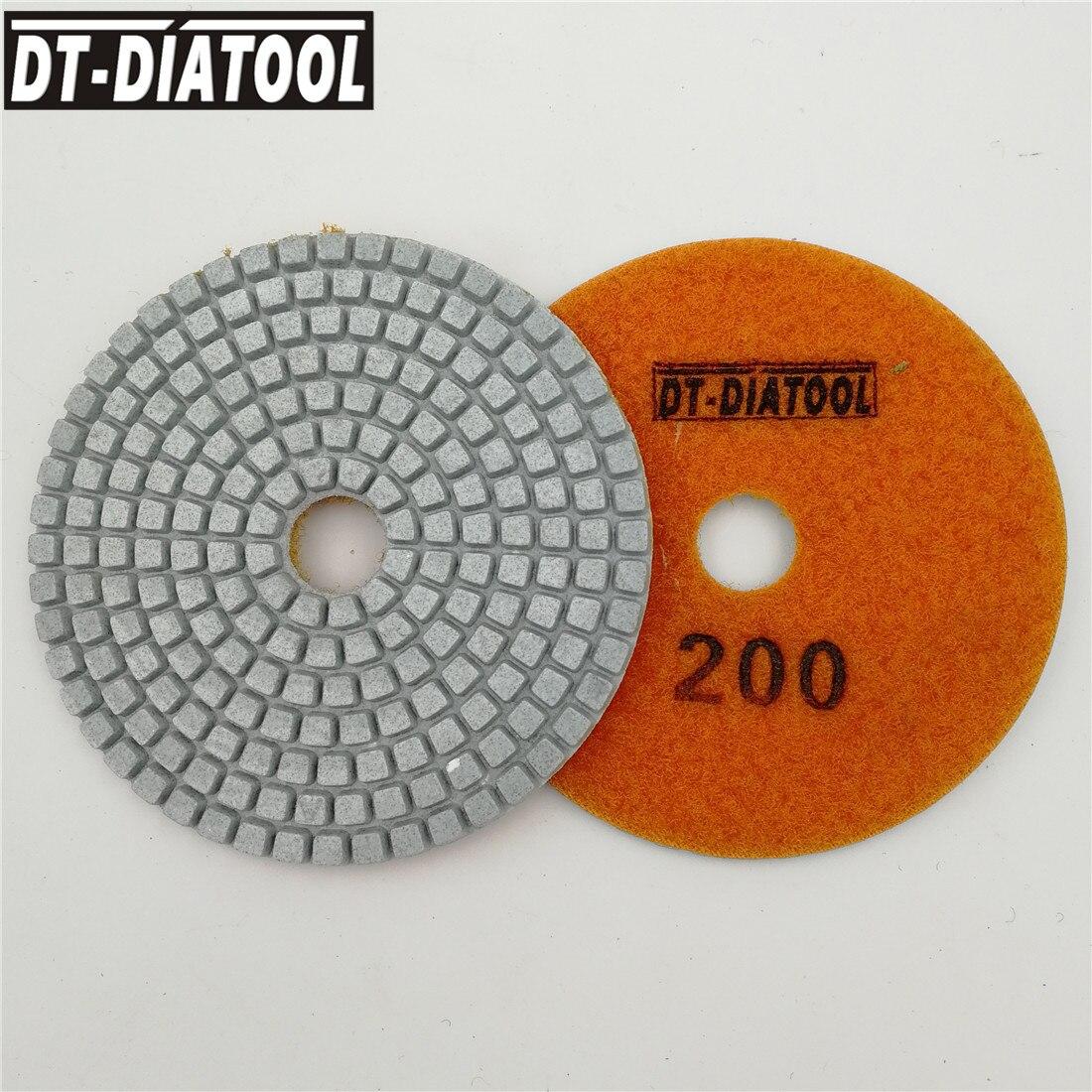 10 шт., алмазные шлифовальные диски для угловой шлифовальной машины, Грит #200