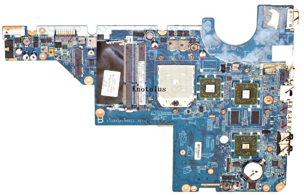 616408-001 para HP CQ42 CQ62 placa base de computadora portátil DDR3 envío gratis 100% prueba ok