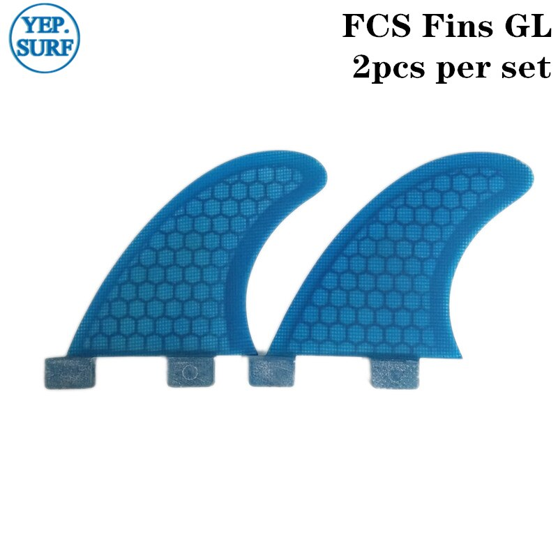 SUP FCS tabla de Surf Fin GL de nido de abeja de fibra de vidrio de Surf Fin Quilhas Surf FCS aletas traseras