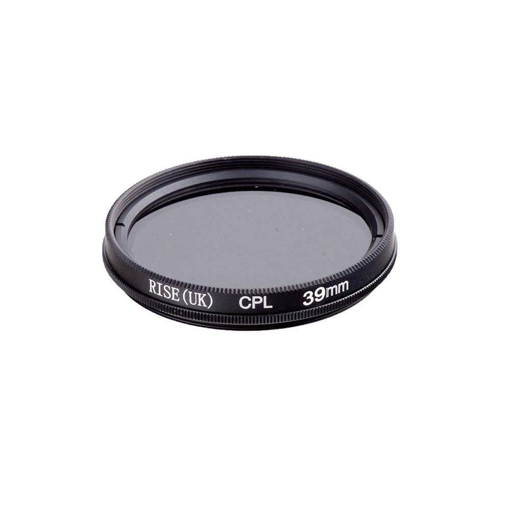 RISE 39mm Circulaire Polarisatiefilters CPL C-PL Filter Lens 39m Voor Canon NIKON Sony Olympus Camera