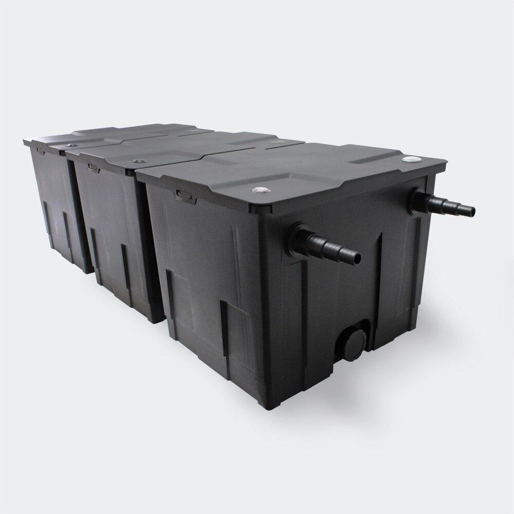 Filtro de biopond, filtro de 12000i/h CBF-350C, filtro de caixa grande, uso ao ar livre