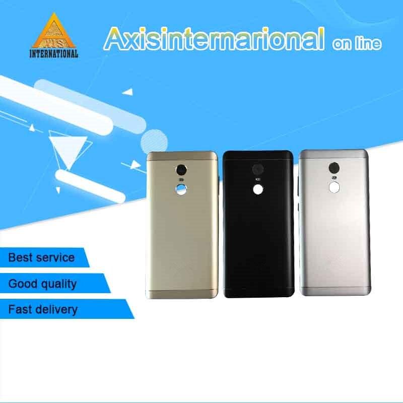 "Axisinternational 5.5 ""para xiaomi redmi nota 4x 4 versão global snapdragon bateria caso capa traseira + teclas laterais lente de vidro"