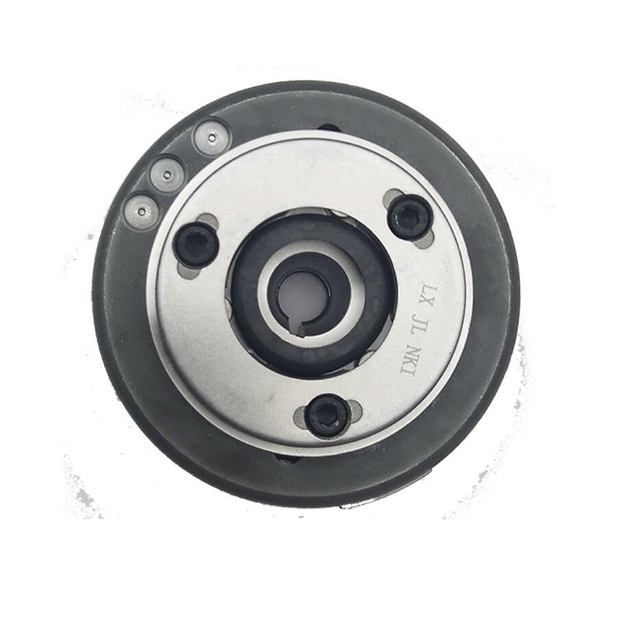 Parte de motor de motocicleta, Rotor Magneto, bobina Magneto de 11 polos para motor de doble cilindro loncin CBT250, Envío Gratis