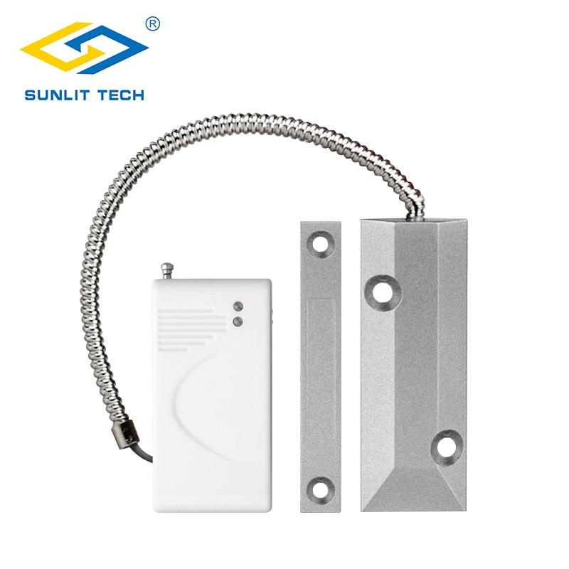 Sensor de puerta enrollable, magnético, inalámbrico, 433MHz, para puerta, ventana, Sensor de contacto magnético, Alarma para G90B Plus