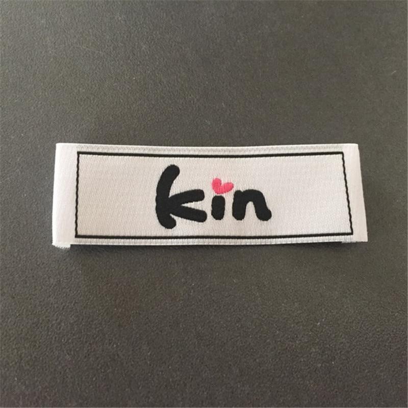 Custom High Density Garment Sewing Labels Woven Labels