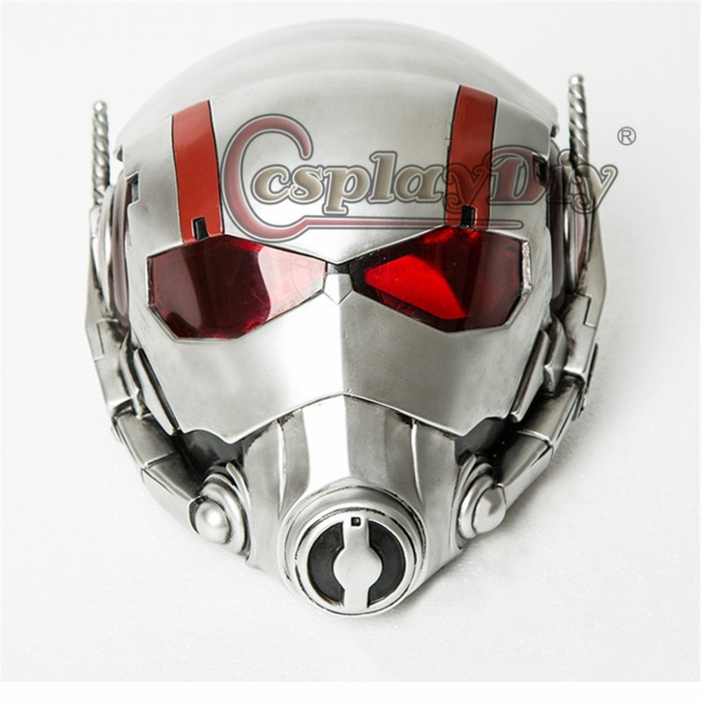 Recién llegado casco de adulto película hombre hormiga casco para Cosplay