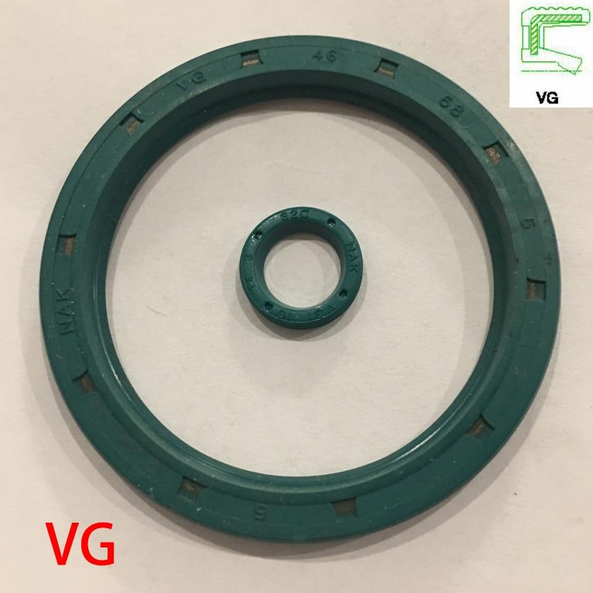 VG 12*16*3 12x16x3 12*18*3 12x18x3 grün NBR Nitril Gummi Nut Einzel Lip Externe Gewinde Rotaroty Skeleton Dichtung Öl Dichtung