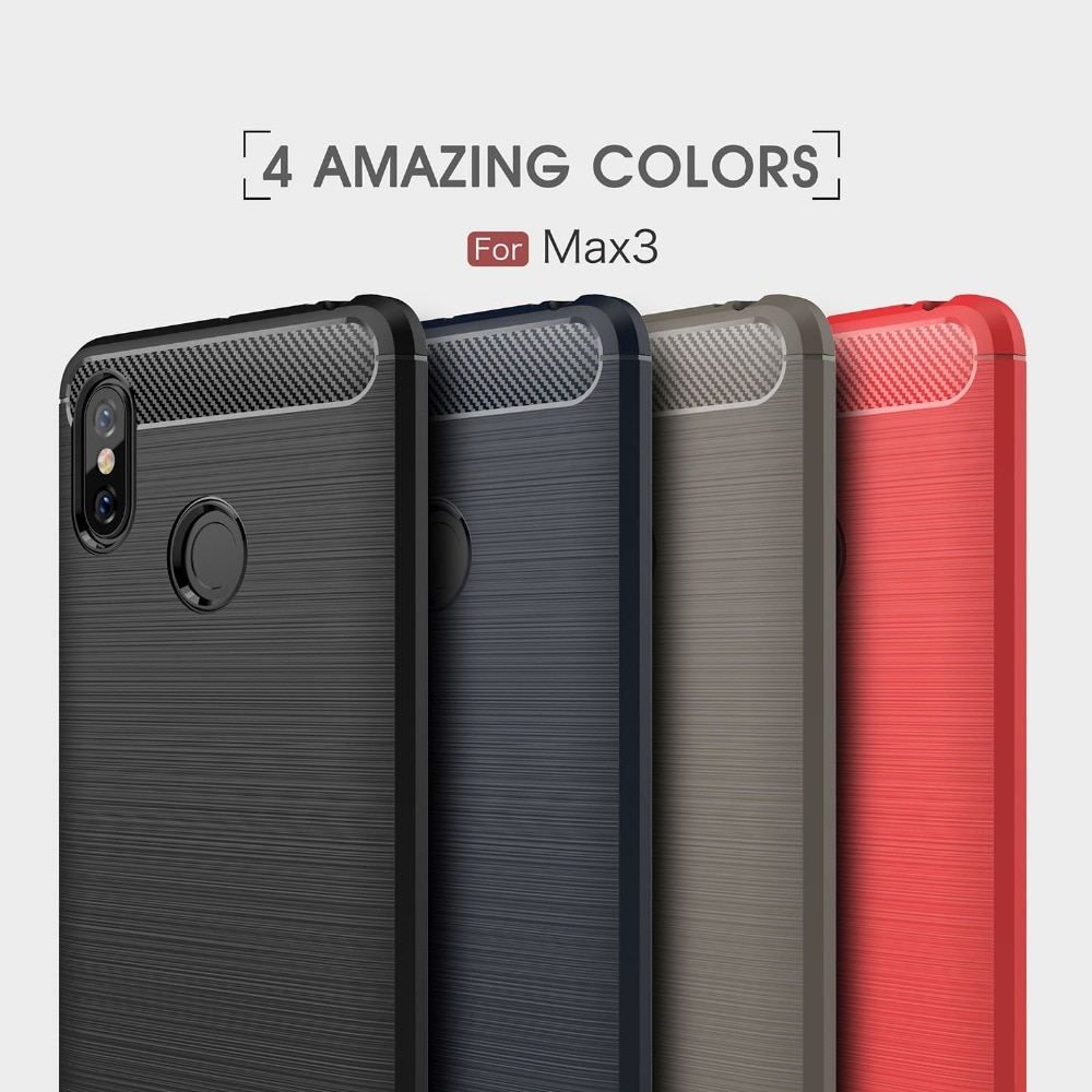 Чехол UTOPER для Xiaomi Mi Max 3, чехол из углеродного волокна для Xiomi Xiaom mi Max 2, чехол для xaomi Mi Max2 Max3 Max Mix 2 S, Fundas