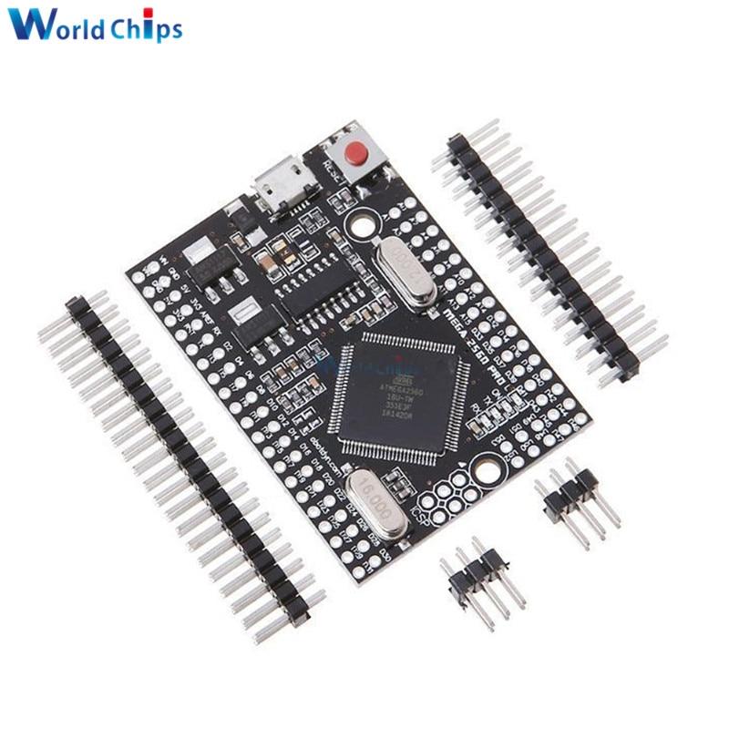 Встроенный чип MEGA 2560 PRO CH340G/Φ с штыревы�