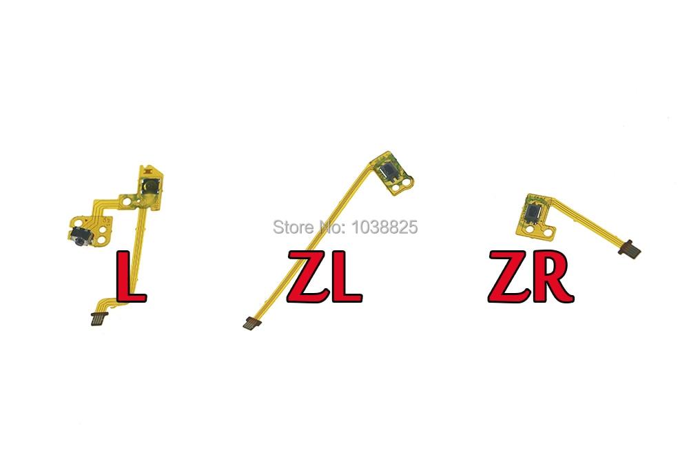 original Part ZR ZL L Button Key Ribbon Flex Cable For Nintendo Switch Joy-Con NS