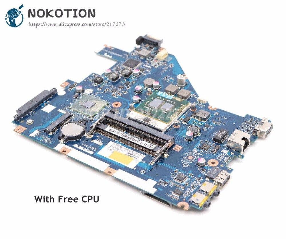NOKOTION для Acer aspire 5742 5733 5742Z 5733Z материнская плата для ноутбука MBRJY02002 PEW71 LA-6582P HM55 UMA DDR3