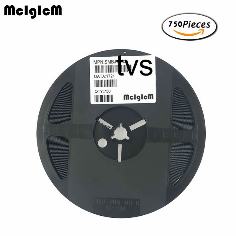 MCIGICM 750 Uds 600W SMB_DO-214AA smd diodo supresor de SMBJ14A SMBJ15A SMBJ16A SMBJ18A SMBJ20A SMBJ22A SMBJ24A SMBJ26A