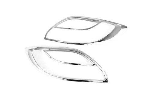Chrome Tail Light Cover For Mazda 2 / Demio 2008-2012