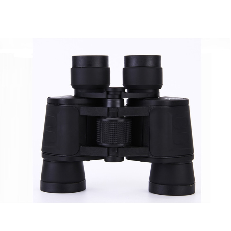 Binoculares portátiles 8x40 HD BAK4 Porro prisma Scopes Lll visión nocturna no infrarrojo impermeable telescopios Camping caza herramientas