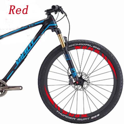 Pegatinas de dos llanta de rueda KONA/calcomanías adhesivas para bicicleta de montaña MTB envío gratis