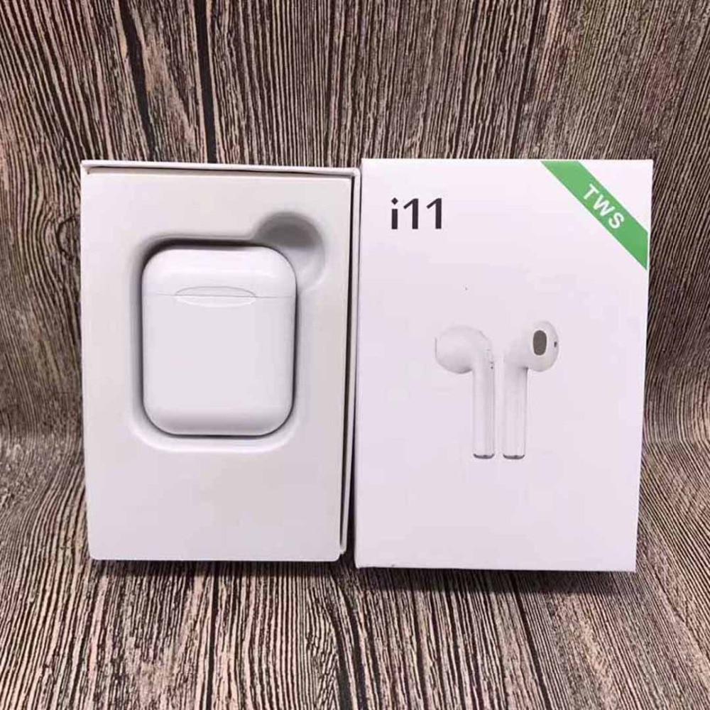 New i11 TWS Wireless Stereo Eearbuds tws i11 Bluetooth Headphones better than i12 i7S i9s tws i10 tws for iphone Android Phones