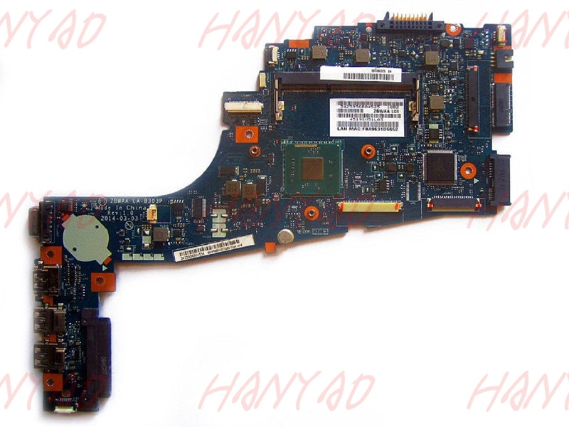 LA-B303P For Toshiba C55 motherboard mainboard ddr3 K000891170 100% tested