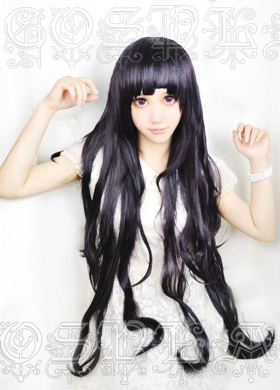 Аниме Dangan Ronpa 2 Danganronpa Mikan Tsumiki Косплей парики 100 см длинные термостойкие синтетические волосы парик + парик