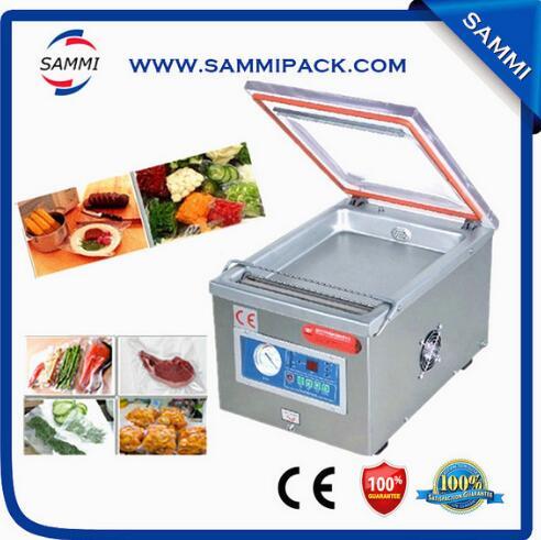 Table top máquina de embalagem a vácuo, seladora de alimentos a vácuo, máquina seladora a vácuo