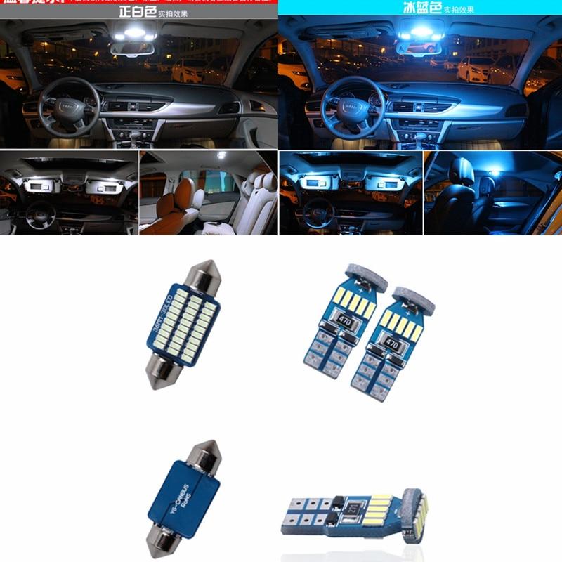 22 Uds Canbus sin Error, kit de bombillas LED para coche, kit de paquete de interiores para BMW X6 E71 2009-2014, luz blanca para mapa, domo, maletero, placa de puerta