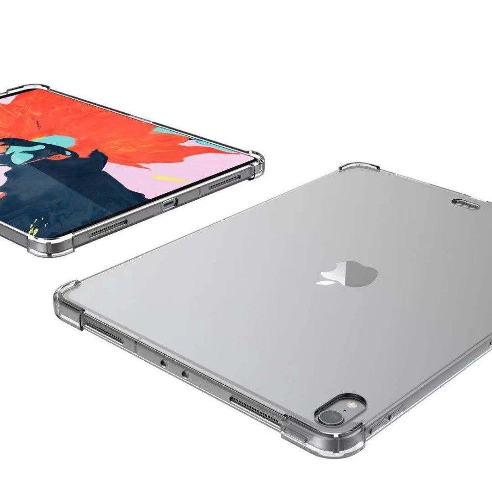 Прозрачный кремний ТПУ чехол для iPad Pro 11 дюймов Чехол для iPad Pro Тонкий чехол для планшета для iPad pro 11 дюймов