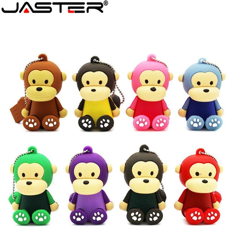 JASTER-Unidad flash USB 2,0, pendrive de 4GB, 8GB, 16GB, 32GB, 64GB, regalo