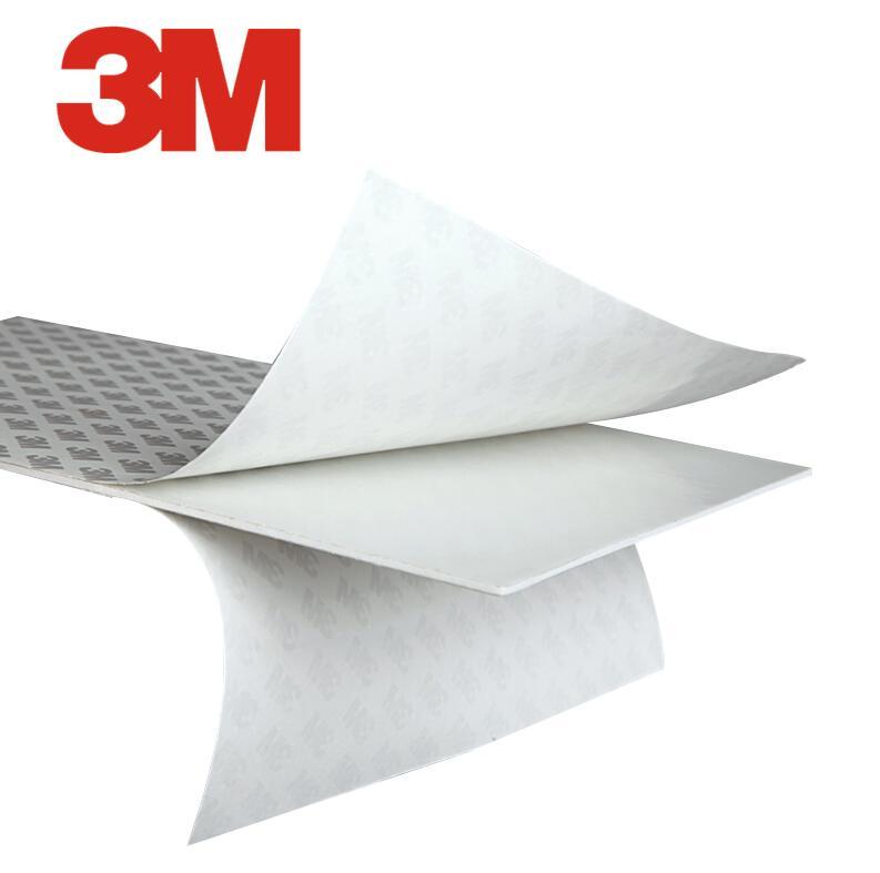 5 hojas como A4 (21cm * 29cm) con 3M 9080 doble junta de espuma adhesiva, uso general para el hogar del coche 2,2mm/1,1mm de espesor 210mm * 290mm