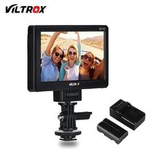 Viltrox DC-50 Portable 5 'clipsable LCD HDMI caméra moniteur vidéo + batterie + chargeur pour Canon Nikon Sony A7 A7SII A6500 A6300 reflex numérique