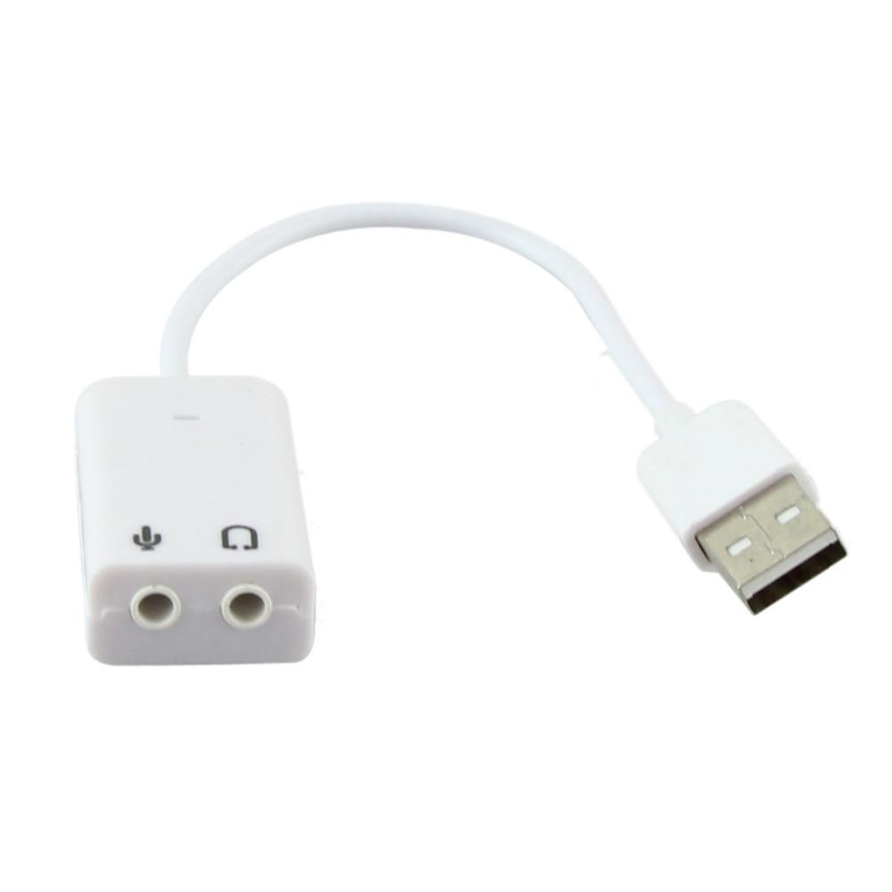 Gran calidad 2017 gran oferta USB 2,0 Virtual 7,1 canal adaptador de tarjeta de sonido de audio para ordenador portátil PC Mac triangulación de envío