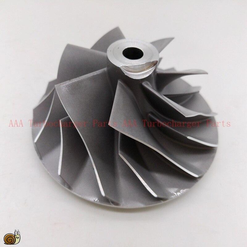 HX35/HX35W rueda de turbocompresor x 54x78mm proveedor AAA piezas del turbocompresor