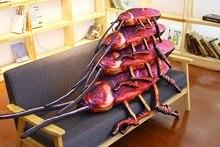 Креативная 3D объемная имитация тараканов, плюшевая подушка, подушка для спины, Мягкая Подушка для домашнего украшения, забавный подарок p0528