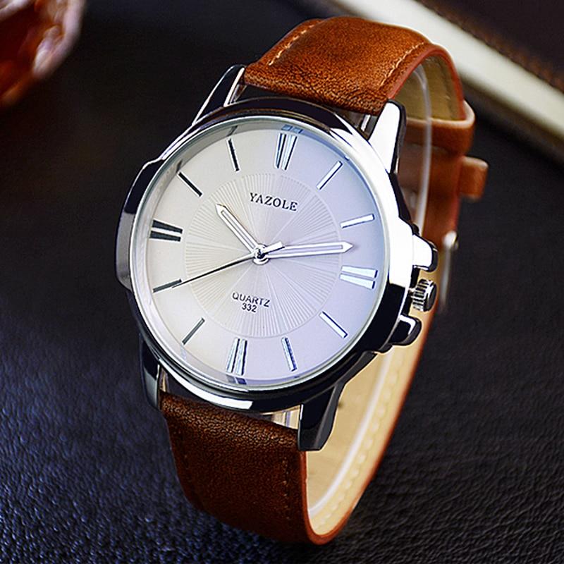 2020 Wristwatch Male Clock Yazole Quartz Watch Men Top Brand Luxury Famous Wrist Watch Business Quar