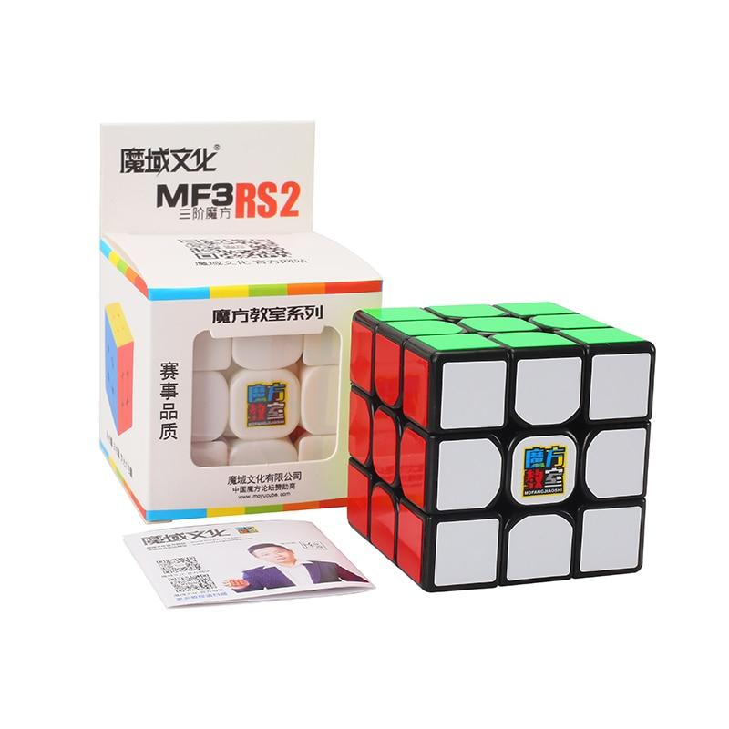 Mofangjiaoshi Mf3RS2 cubo mágico rompecabezas de velocidad 56mm juguetes de competencia para niños WCA Championship 3x3 Mf3RS V2 3 capas