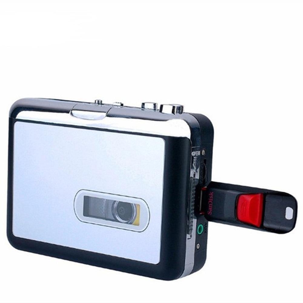 Nuevo reproductor de casetes USB Walkman Cassette Tape música Audio a MP3 convertidor reproductor guardar archivos MP3 a USB Flash/USB Drive