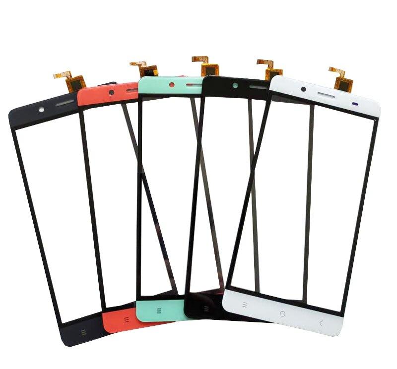 5,5 zoll Für BQ BQS-5515 Breite BQS551 Touchscreen Sensor Glas Digitizer Front Glas Schwarz Weiß Rot 10 Teile/los
