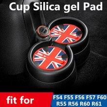 Union Jack Gel de silice 1 pièce   Autocollants pour BMW MINI cooper F55 F56 F57 F60 F54 R55 R56 R60