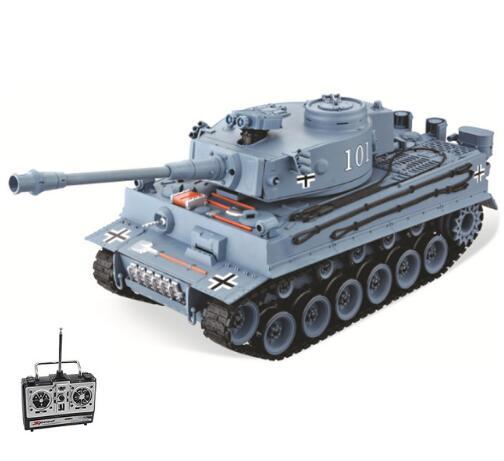 Tanque de RC Tigre alemán 101, tanque militar de balas de lanzamiento grande 120, tanque de simulación de tamaño, juguetes para niños, regalos de Modelismo
