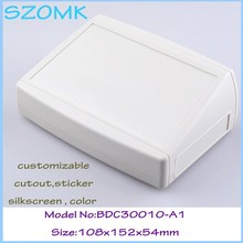 Szomk caixa do instrumento caixa de plástico para PCB (1 pcs) 108*152*54mm caixa eletrônica de plástico caixa do Instrumento caixa de controle