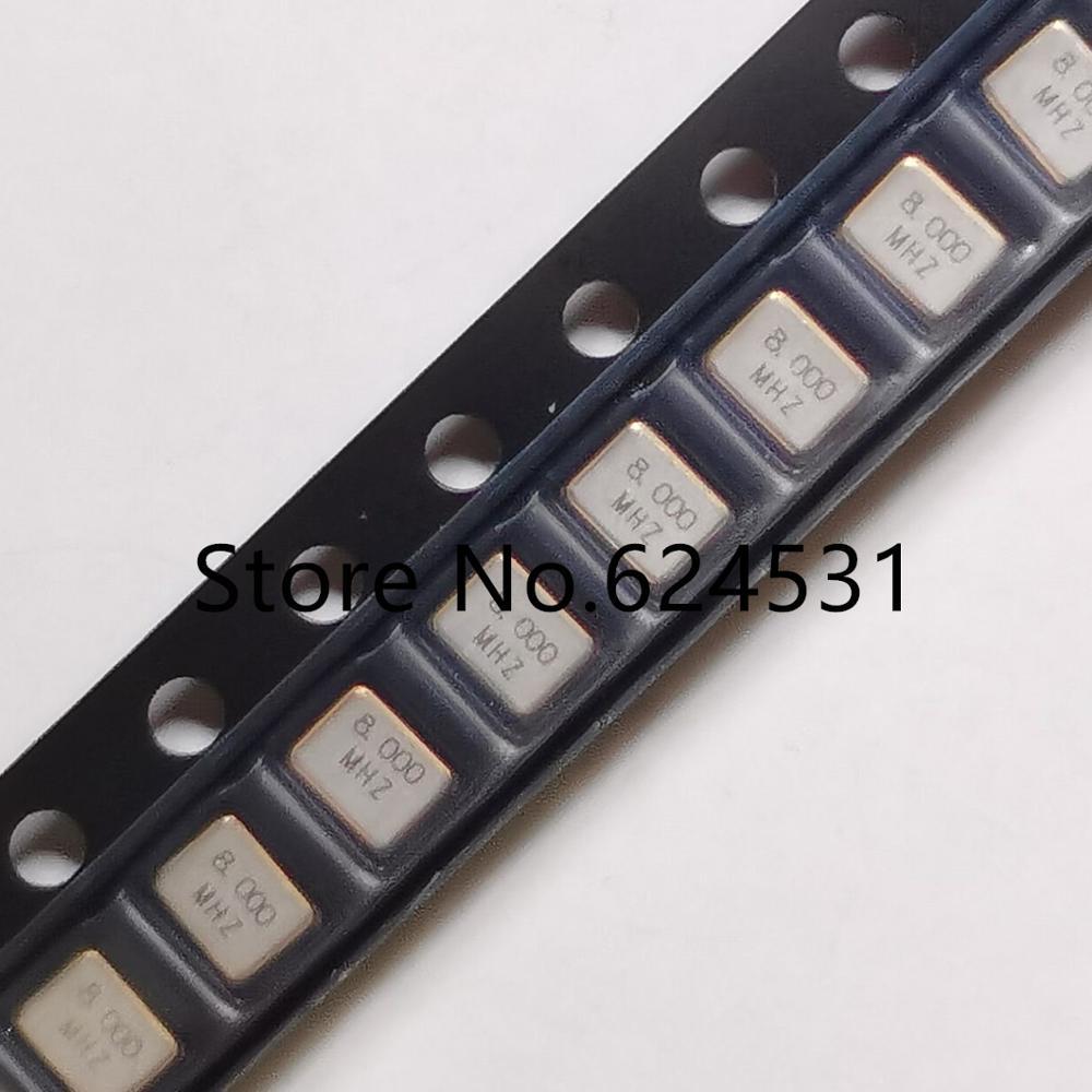 10 шт. пассивный патч-кристалл 3225 3,2*2,5 мм 4 фута 8 м 8 МГц 8,000 МГц 12PF 15PF 20PF резонатор