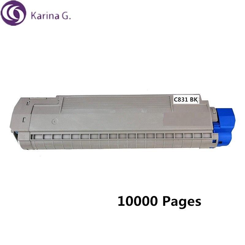 المعاد تدويرها لأوكي C831 خرطوشة حبر ل Okidata MC873dn MC873dnc MC873dnx 10000 صفحات