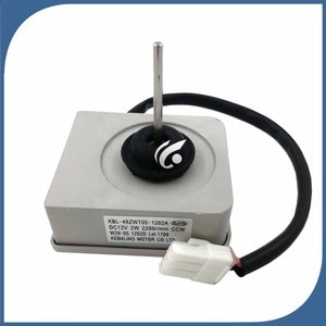 new Good working for refrigerator ventilation fan motor KBL-48ZWT05-1202A DC 12V KBL-48ZWTO5-1202A reverse rotary motor