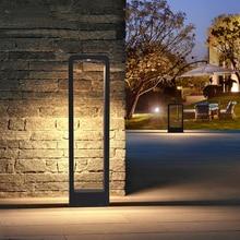 10 W LED Rasen Licht Im Freien Wasserdichte Aluminium Rasen Licht Landschaft Gemeinschaft Garten Hof villa Grünland Straße Lichter