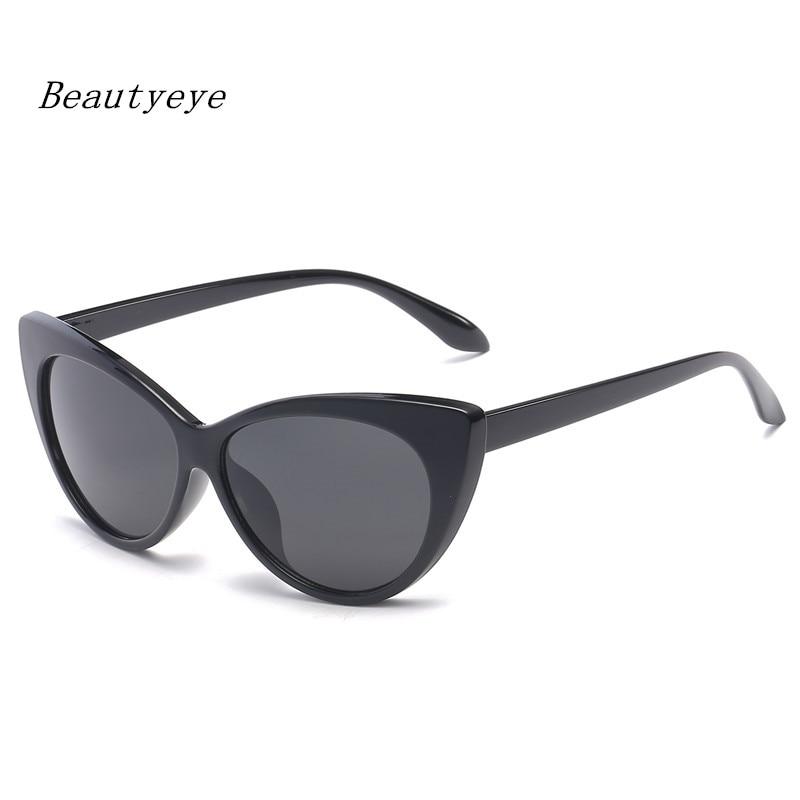 Beautyeye Vintage mujeres gafas de sol ojo de gato gafas de diseñador de la marca gafas de sol Retro mujer Oculos de sol UV400 gafas de sol