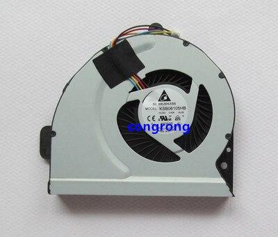 Cpu ventilador de refrigeración para Asus K53E K53S K53SC K53SD K53SJ K53SK K53SM K53SV K84 k54hr K84 X54L A53 K43SD K53SD X44 X44L X230 refrigerador