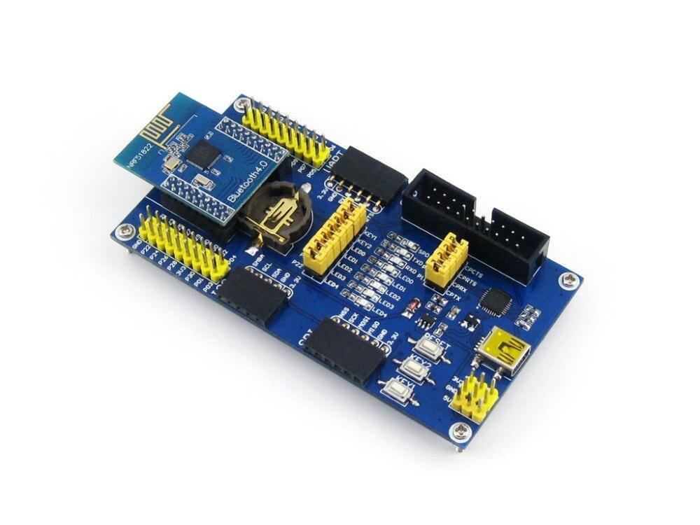 Módulo BLE4.0 Bluetooth NRF51822, módulo de comunicación inalámbrica 2,4G, Kit de evaluación de desarrollo de transmisor receptor