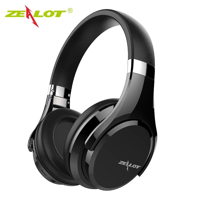 ZEALOT B21 Bluetooth Kopfhörer für Telefon PC HIFI Starke Bass Kopfhörer Bluetooth Wireless Headset Gaming Kopfhörer mit mic